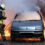 Brand in parkeergarage door sprinkler geblust