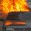 Zeer grote schade na brand parkeergarage Oosterhout.